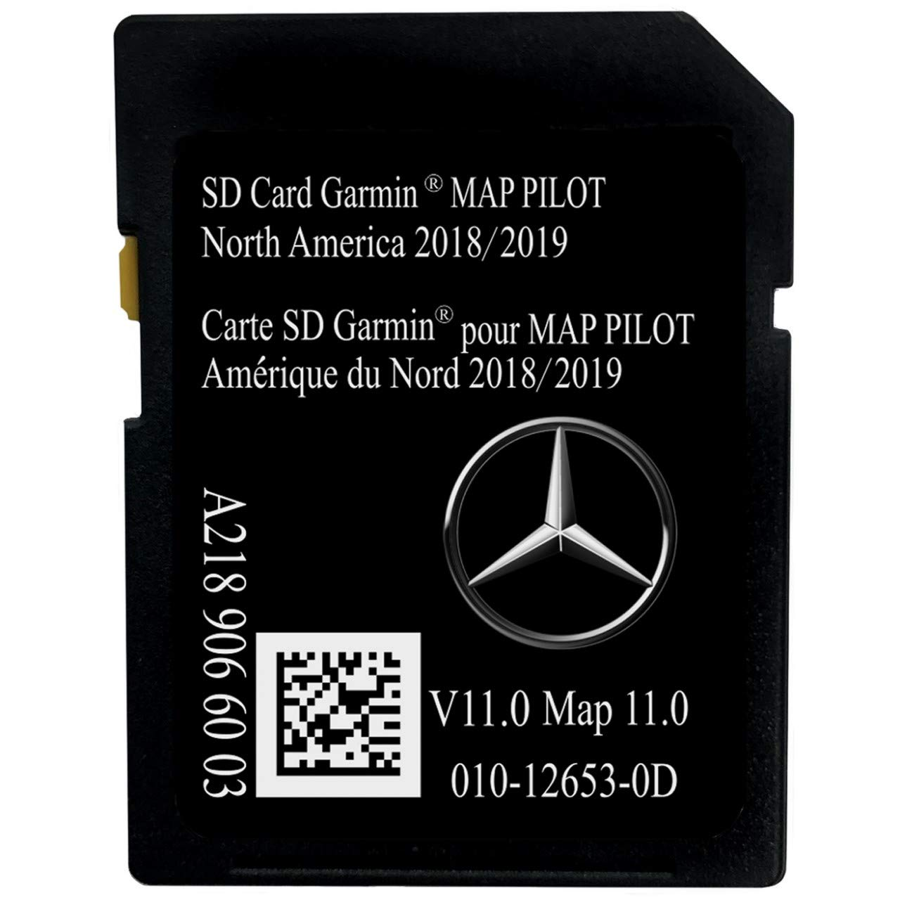 Latest 2019 Navigation SD Card 2019 2018 2017 Version A2189066003 for Mercedes B C CLA CLS GLA GLC SLC Chip Map with Anti Fog Car Rearview Mirror Film and Key Chain by NAVI BOSS