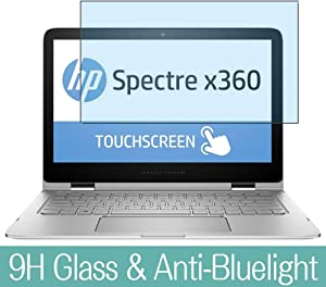 "Synvy Anti Blue Light Tempered Glass Screen Protector for HP Spectre 13-4100 x360 13.3"" Visible Area 9H Protective Screen Film Protectors"