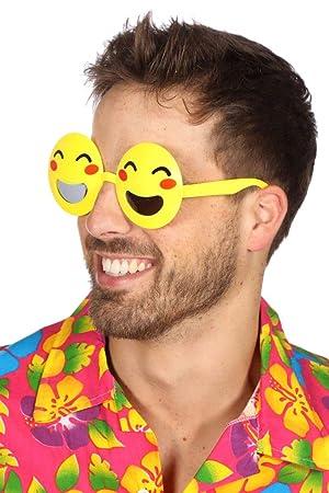 Wilbers Kostum Zubehor Brille Lachender Emoji Karneval Fasching