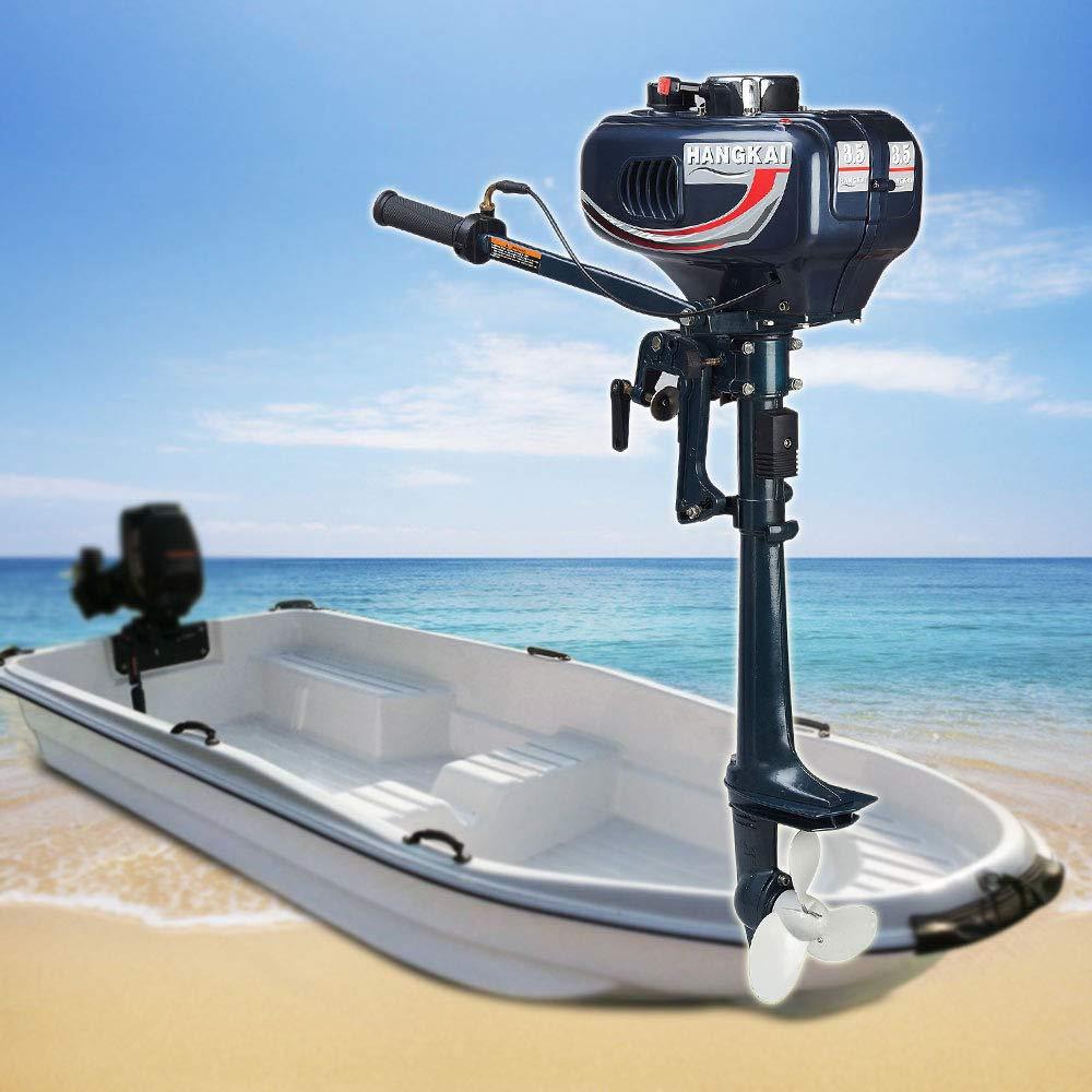 Amazon.com: NOPTEG Motor para embarcaciones, motor de pesca ...