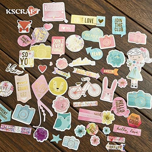 17011801 Planner Happy 45pc Join The Club Cardstock Die Cuts for Scrapbooking Happy Planner/Card Making/Journaling Project