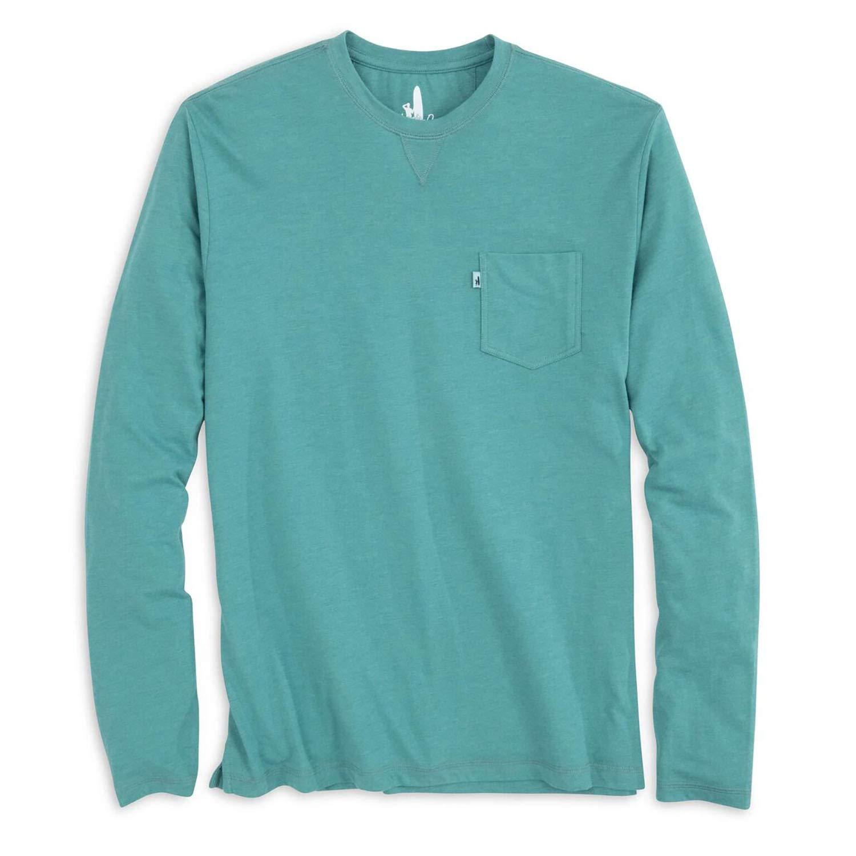 johnnie-O Matty Long Sleeve T-Shirt Gulf Stream