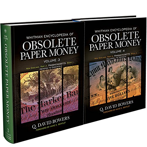 Whitman Encyclopedia Obsolete Paper Money Vol 3 & 4