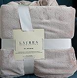 Lauren Ralph Lauren Classic Micro Mink Queen Blanket - Linen Tan 90' X 90'