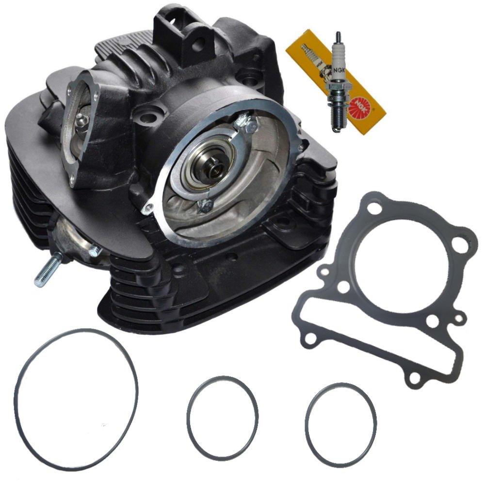 Yamaha Kodiak 400 Cylinder Head Complete Assembly 4x4 1995 Wiring Harness Yfm400 Yfm 1993 1994 1996 1997 1998 1999 Automotive