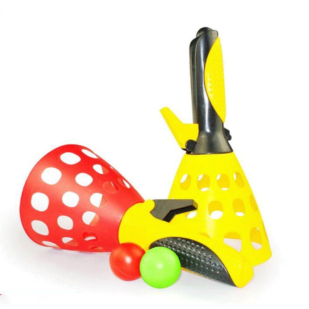 Finlon Fun-Air Sports Scoop Ball Set Launch & Catch Balls Game Toss Game Children Outdoor Garden Backyard Play Activity