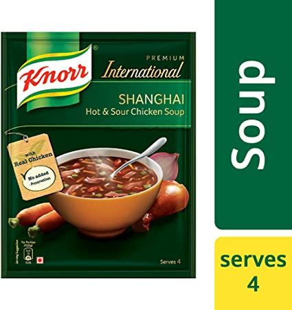 Knorr Soup Hot and Sour Chicken Pouch, 38g