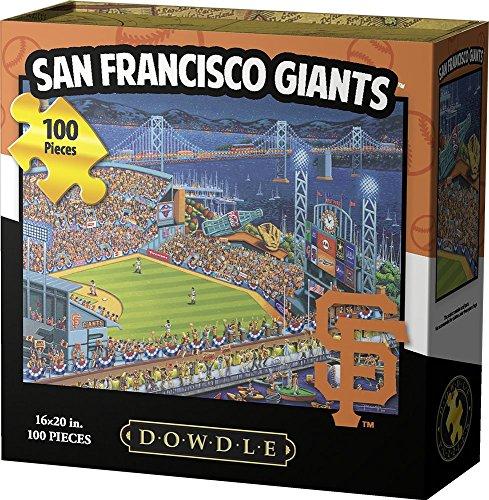 Games San Francisco Giants Puzzle (Dowdle Jigsaw Puzzle - San Francisco Giants - 100 Piece)