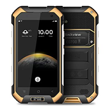 Teléfono Móvil a Prueba de Agua, Blackview BV6000 IP68 4.7