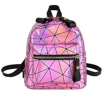 Harry Store niña Estudiante Escuela Splicing Laser Mochila Bolso de cremallera bolsa de viaje Imaginarium Ofertas