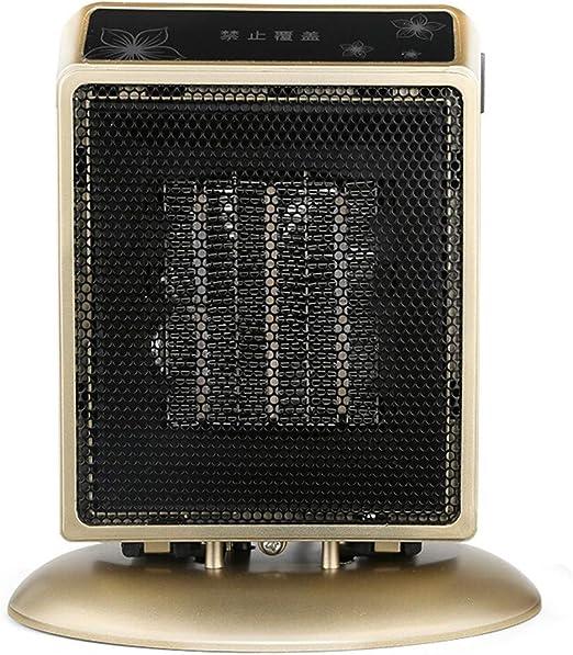 EFVFG Ventilador De Calefacción Eléctrica Mini Calentador De ...