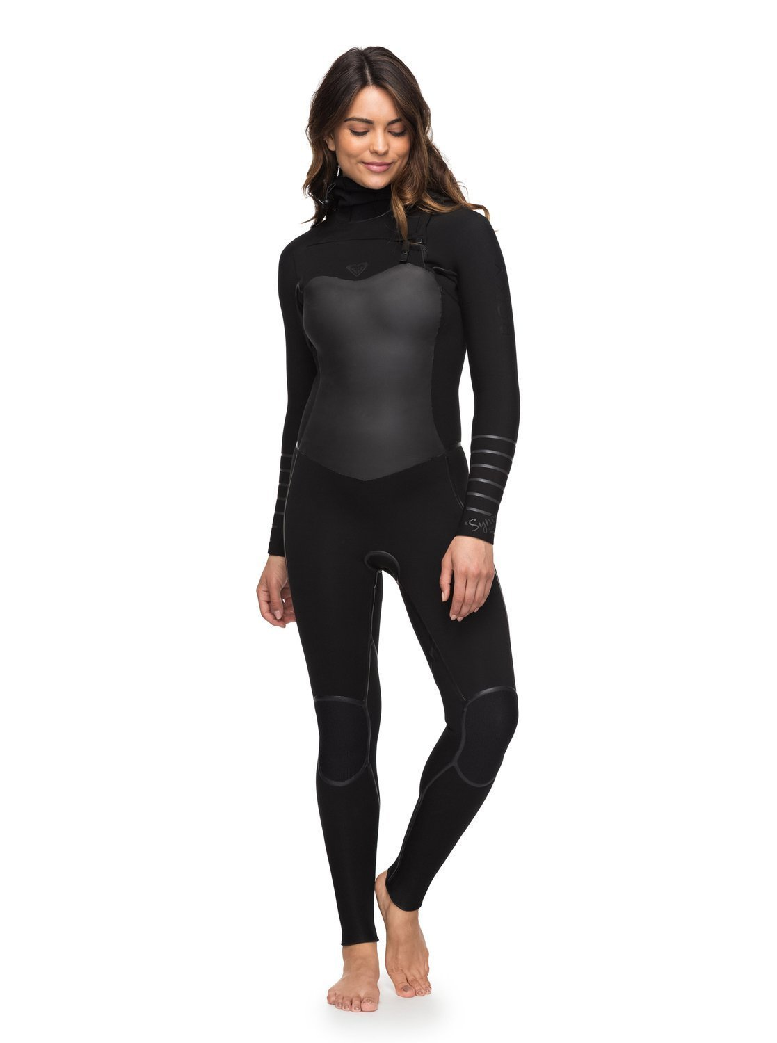 ab934524fd Amazon.com  Roxy Womens 5 4 3Mm Syncro Plus Hooded Chest Zip Wetsuit  Erjw203002  Sports   Outdoors