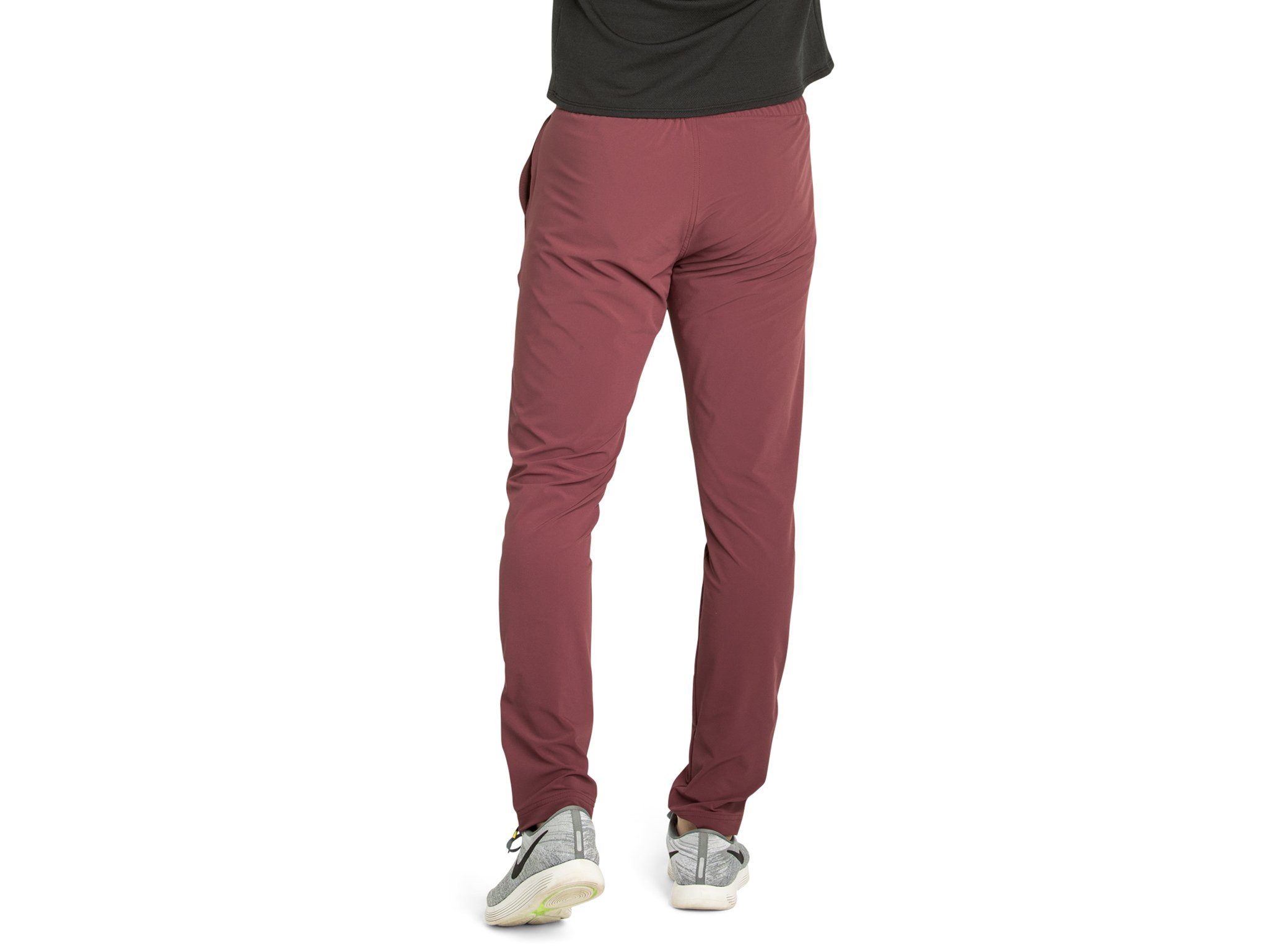 OLIVERS Apparel, Water Repellant, Athletic Cut, 4-Way Stretch, Bradbury Jogger Pants, 31 Inch Inseam - Crimson - Large by OLIVERS (Image #2)