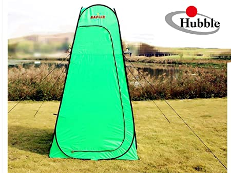 Changing Room Pop Up Privacy Shelter Toilet Portable Tent for Shower Camping Dressing with Carry Bag Waterproof Outdoor Sports by Hubble