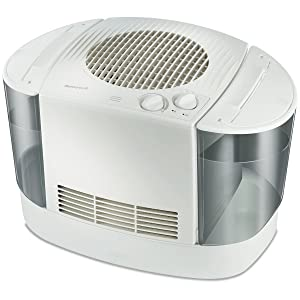 Honeywell HEV685W Top Fill Console Humidifier, White