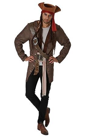 Piratas del Caribe - Disfraz de pirata Jack Sparrow para ...