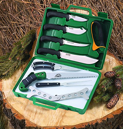 - Outdoor Edge Game Processor Butcher Kit with Carrying Case, PR-1