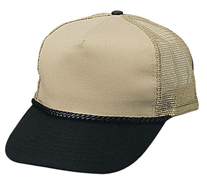 Amazon.com  Dustin clothing series Blank Two Tone 5 Panel Trucker Cotton  Twill Mesh Braid Hat Hats Cap Caps  Clothing 9e9293dfbe3