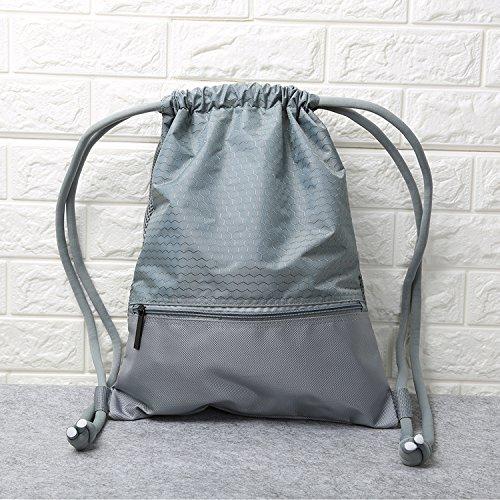 Drawstring Backpack Sackpack Traveling Basketball