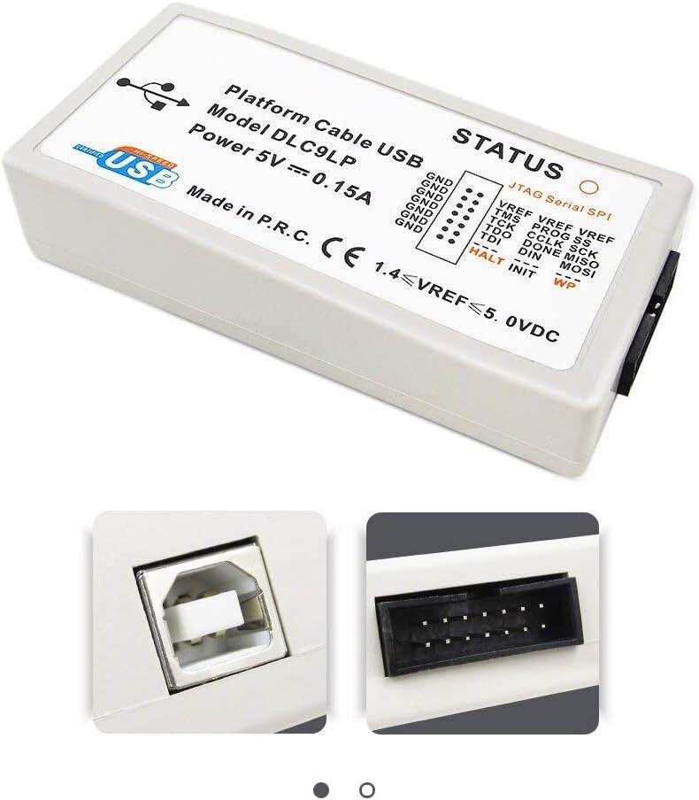 Zhongyu Xilinx Platform Usb Download Cable Jtag Programmer Fpga Cpld C Mod Xc2c64a M102 Lvttl Lvcmos