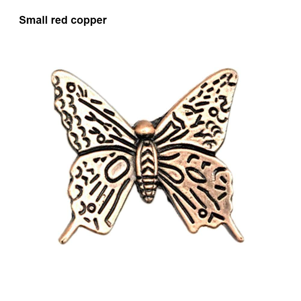 Zigtee Classical Butterfly Alloy Metal Drawer Handle for Kitchen Cabinet Cupboard Furniture