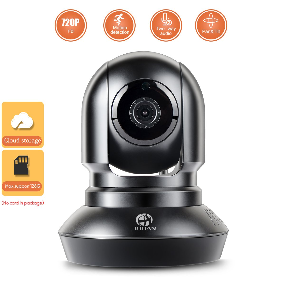 Security Camera, JOOAN IP Camera HD 1080P IP Camera Video Monitoring Security Surveillance with Two-way Audio - home security JA-770