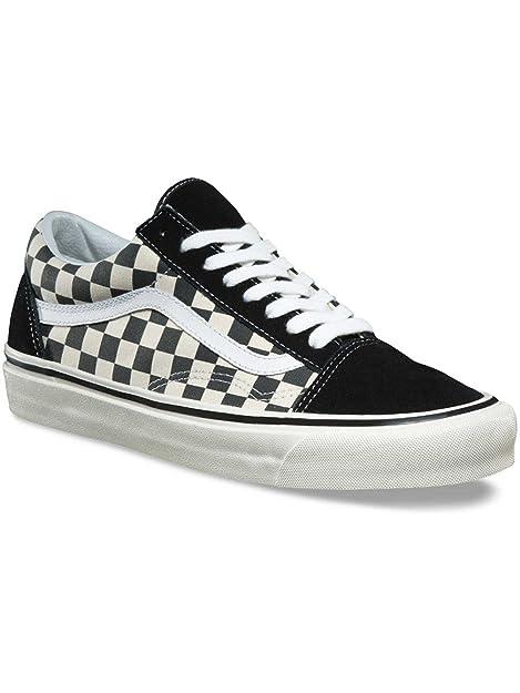 scarpe vans basse old skool scacchi