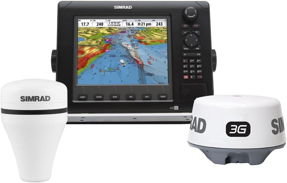 SIMRAD NSE8 NAVIGATIONAL PACK NSE8 3G RADAR GS15 GPS ANTENNA ...