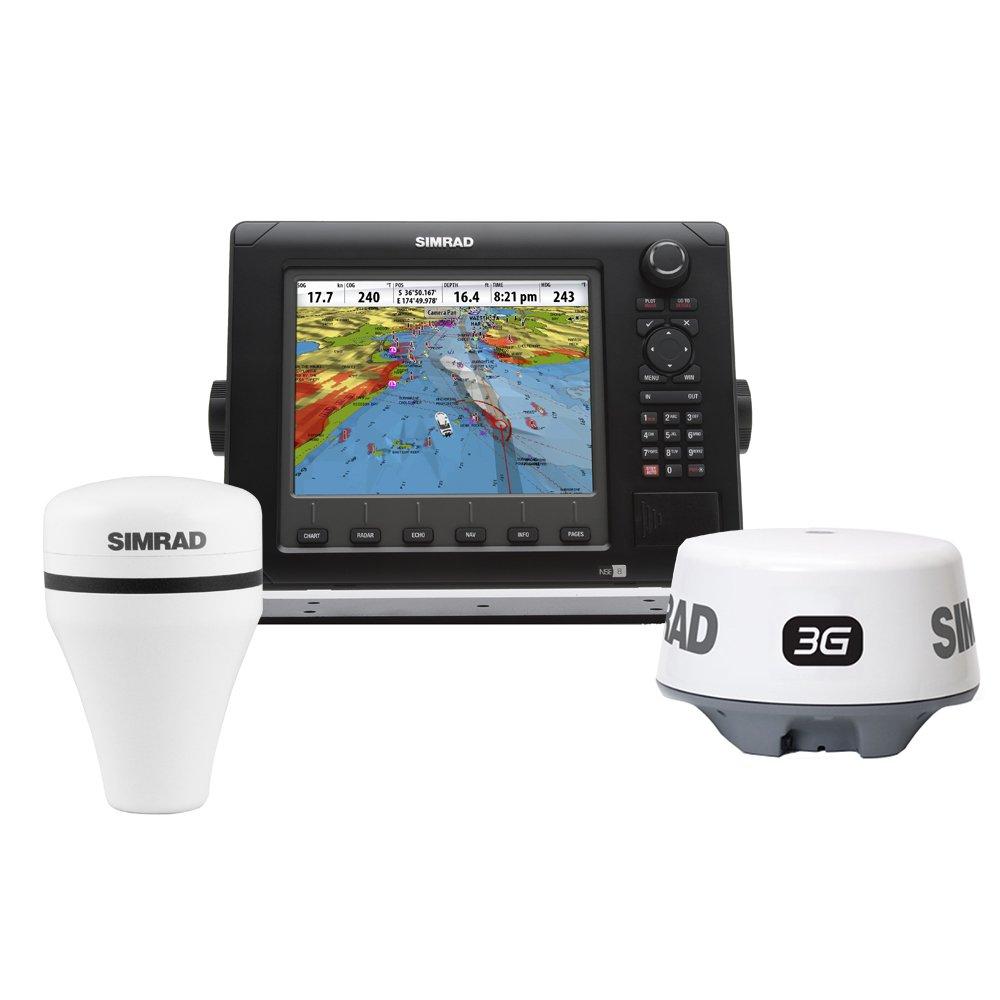 Amazon com: Simrad NSE8 Navigational Pack w/NSE8, 3G Radar