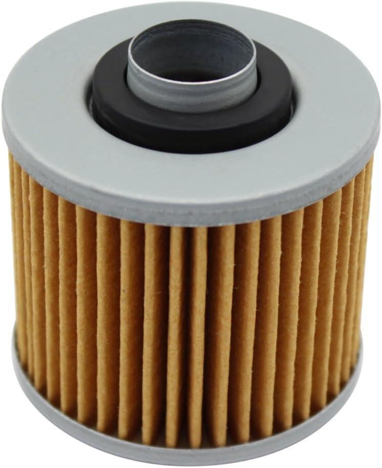 Pack of 2 Cyleto Oil Filter for YAMAHA XVS1100 V-STAR 1100 CLASSIC 1999-2009 XVS1100 V STAR 1100 CUSTOM 2000-2009