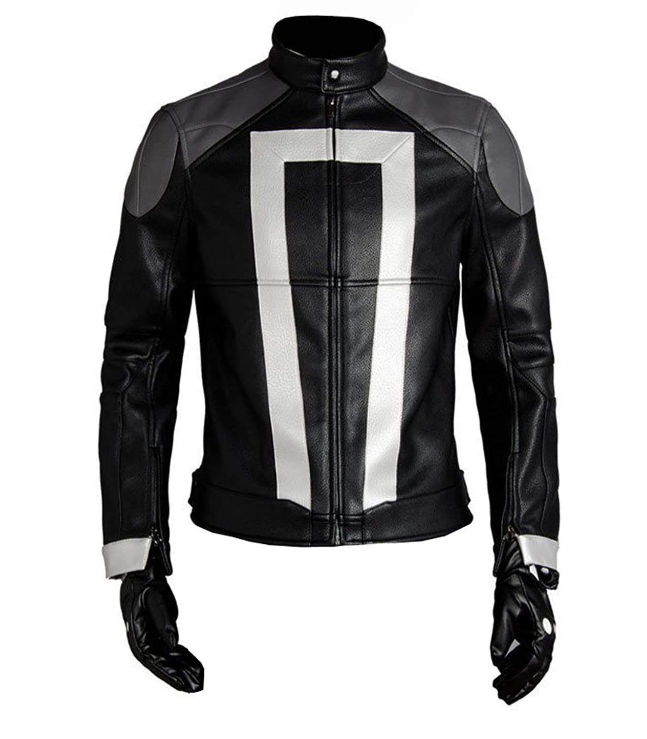 Men's Cool Agents of Shield Ghost Rider Jacket Cosplay Costume
