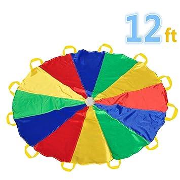 juego del paracadas u con asas para interior o exterior m nios