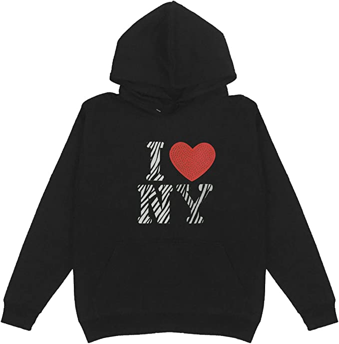 Zebra Love Patch Women/'s Women/'s Pullover Hoodie Plus Size Cotton Handmade Bling