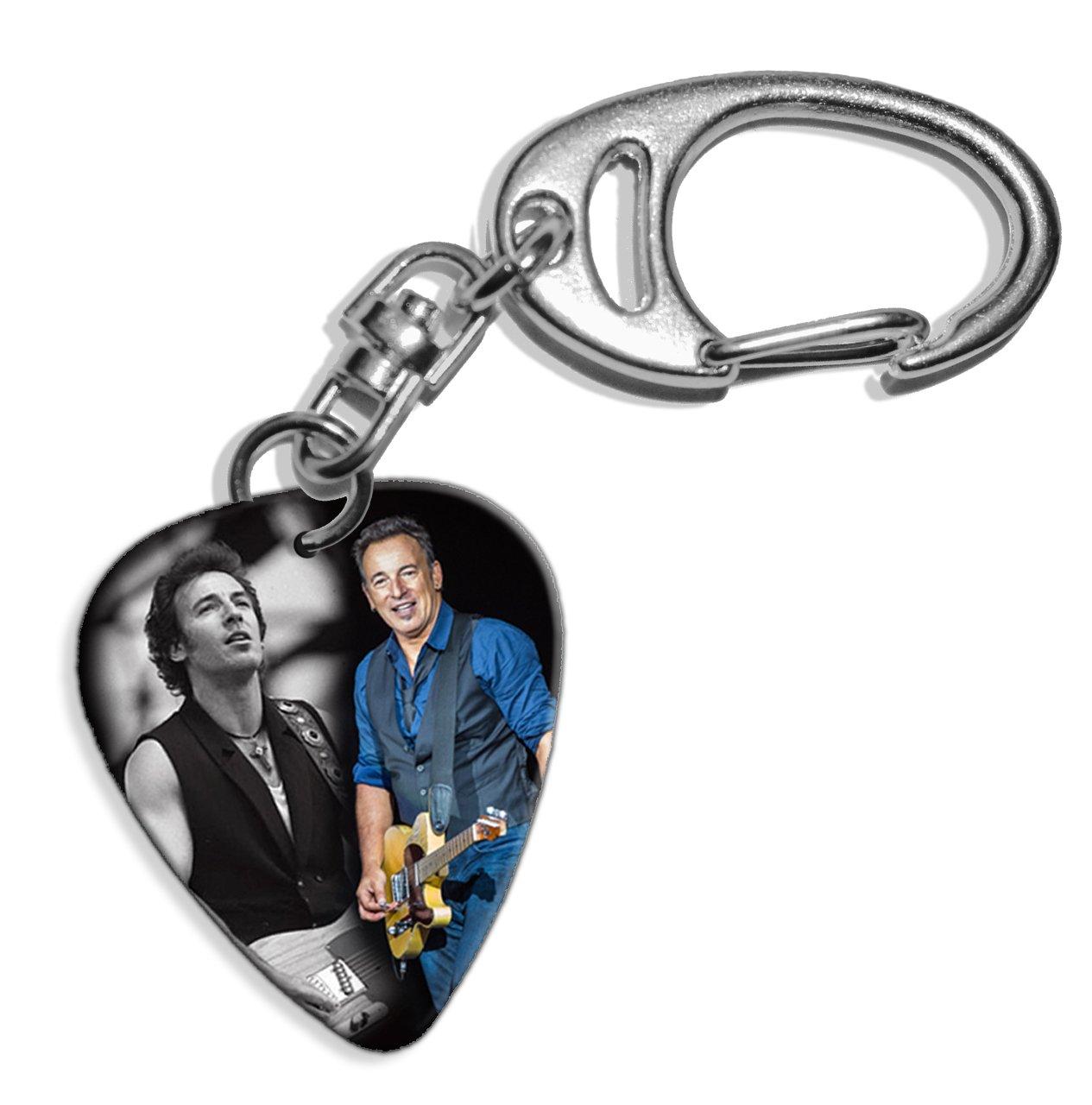 Live Performance Bruce Springsteen (WK) Guitarra Pick Keyring ...