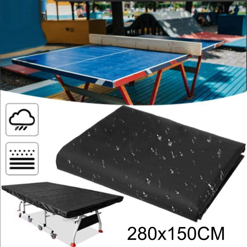 Famyfamy Pingpong Mesa Parasol Cubierta, Interior Exterior Impermeable Antipolvo Mesa Tenis Hoja Protección UV: Amazon.es: Hogar