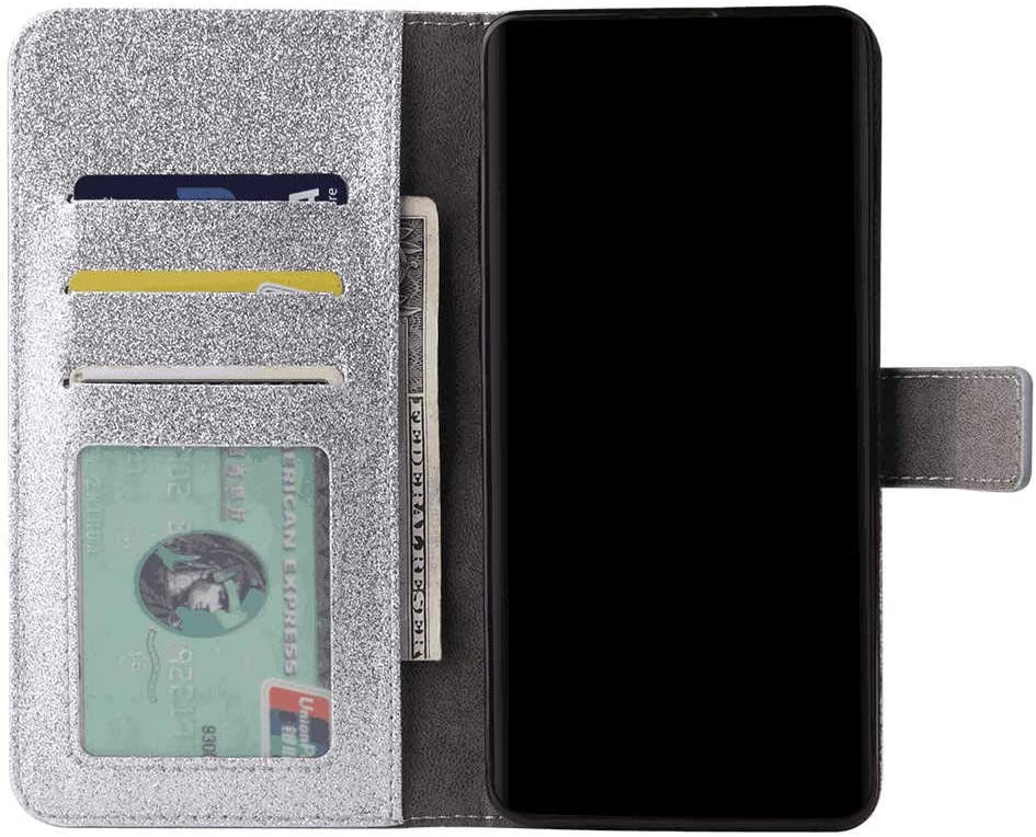 Leather Cover Business Gifts Wallet with Extra Waterproof Underwater Case Flip Case for Samsung Galaxy S8