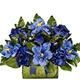 Blue Hibiscus and Hydrangea Sale