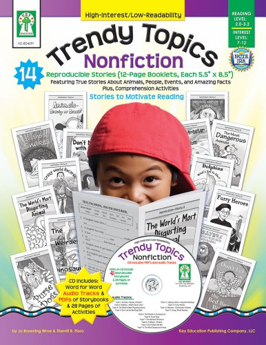 - Trendy Topics: Nonfiction (High-Interest/Low-Readability)