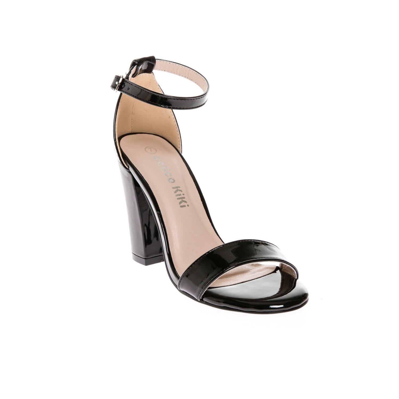 Amazon.com | CALICO KIKI Women\'s Open Toe Ankle Strap Block Heel ...