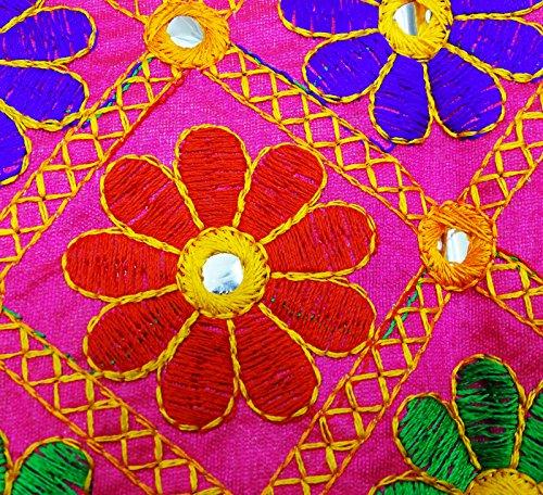 PEEGLI Indische Ethnische Kutch Bestickt Banjara Jacke Frauen Shrug ...