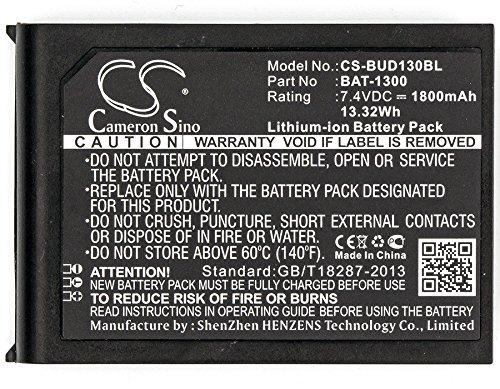 Price comparison product image Cameron Sino Li-ion 1800mAh battery for Bluebird Pidion BIP-1300 BarCode Scanner Fits Bluebird BAT-1300