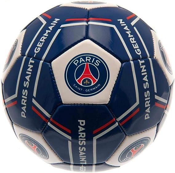 Paris Saint Germain FC - Balón con diseño de rayas (Talla 5) (Azul ...