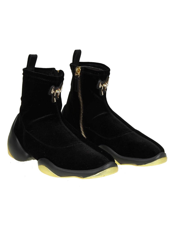 a4b7cb3b502f4f ... Giuseppe Zanotti Design Femme RW80004001 Noir Velours Velours Velours  Chaussures De SkateB07JVRCWKLParent | D'ornement ...