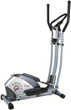 SUNNY salud y Fitness bicicleta elíptica - SF-E1114, Gris