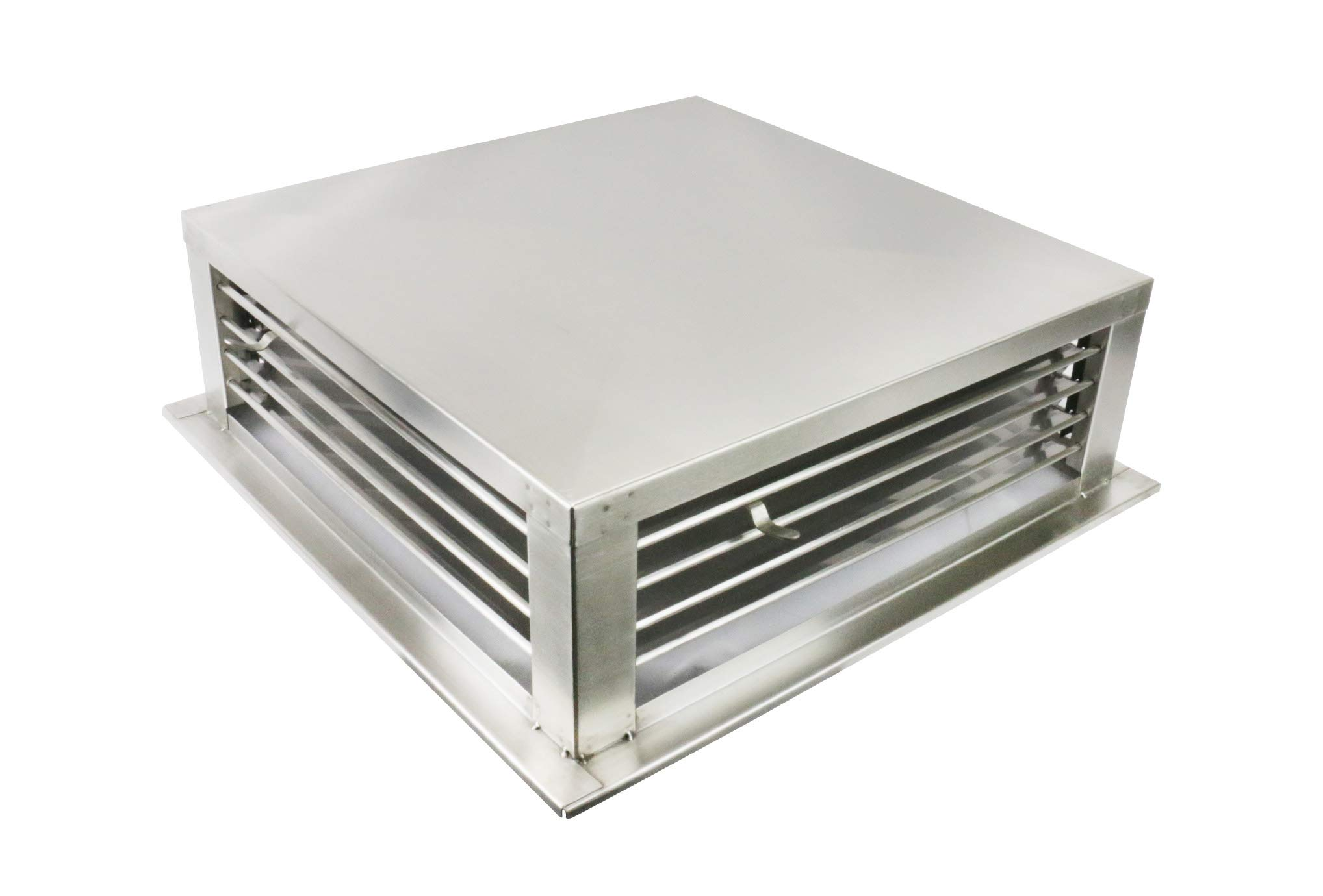 GSW DF-12S 12-Inch Stainless Steel 4-Way Adjustable Metal Diffuser for Evaporative/Swamp Cooler