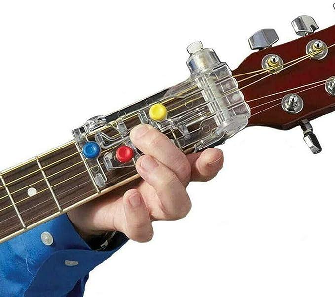 Sistema de aprendizaje de guitarra de acordes clásicos, ayudante ...