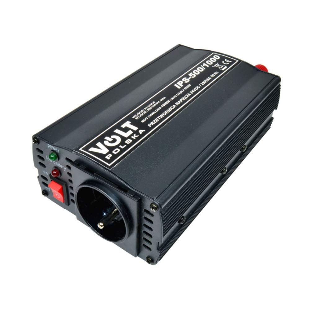 IPS500//1000-24V Unbekannt Spannungswandler Wechselrichter Reiseadapter Inverter 1000W 230V 24V