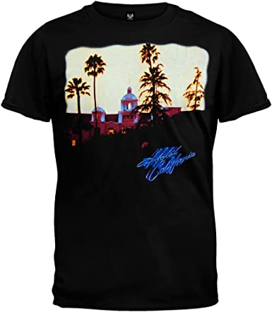 Old Glory The Eagles Mens Hotel California T Shirt Amazon Co Uk Clothing