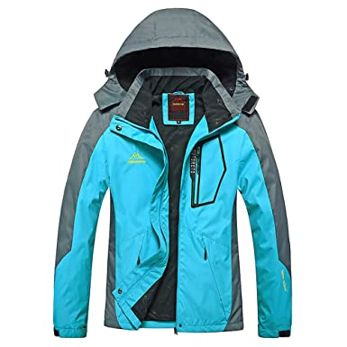 Amazon.com: MAGCOMSEN Women's Sportswear Hiking Waterproof Jacket ...