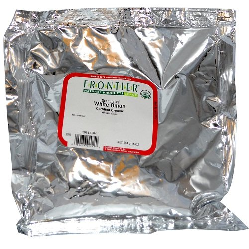 Frontier Onion Granules - Frontier Herb Onion Granules, Bulk, 1 Lbs.